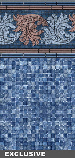 FRENCH RIVIERA TILE / BLUE MOSAIC